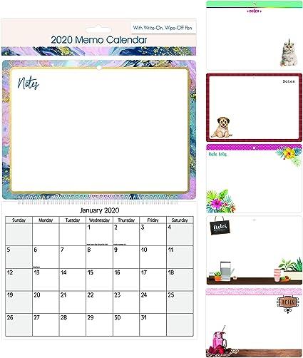 2018 Midi Memo Nota calendario organizador recordatorio Junta con ...