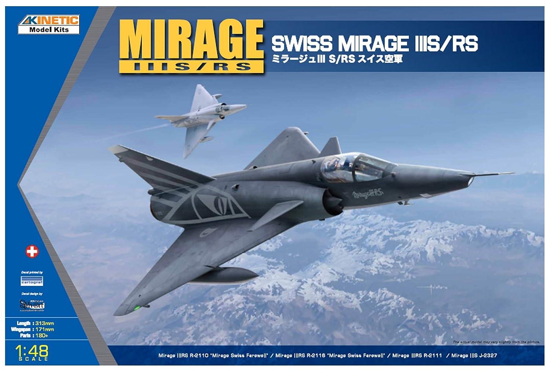 Kinetic K48058 – Model Kit Mirage IIIS RS
