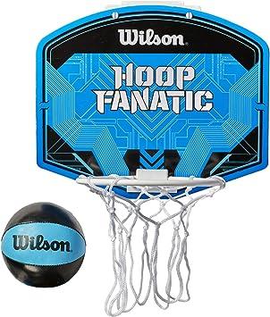 Wilson WTBA00436 Minicanasta de Baloncesto Fanatic Pelota incluida ...