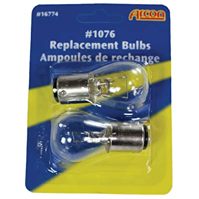Arcon 16774 Replacement Bulb #1076, (Pack of 2): Automotive