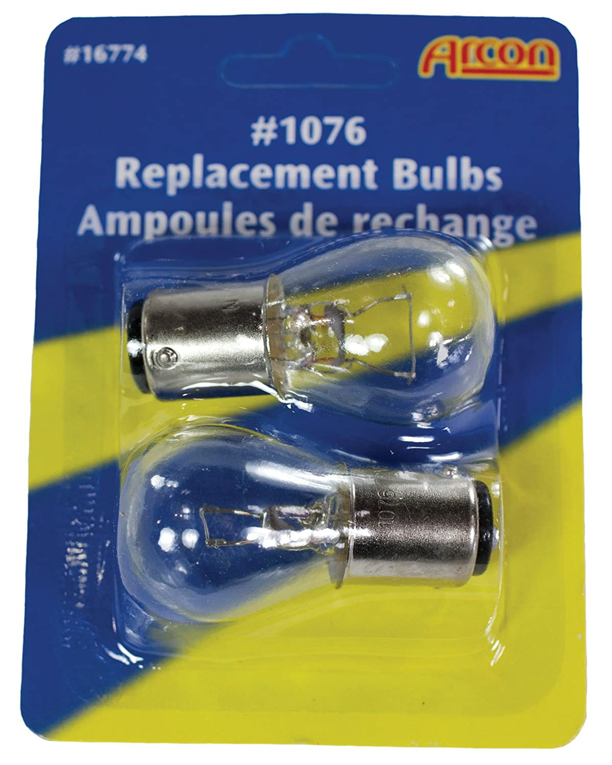 Pack of 2 Arcon 16774 Replacement Bulb #1076,