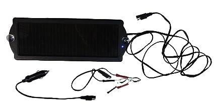 Amazon.com: Thunderbolt Cargador Solar de baterías de 1,5 W ...