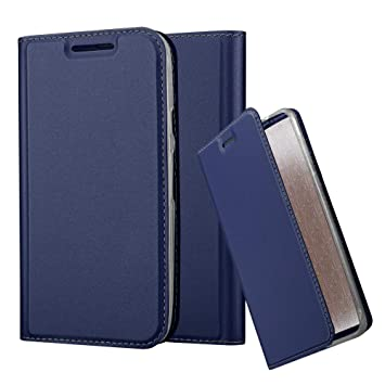 Cadorabo Funda Libro para Motorola Moto G3 en Classy Azul ...