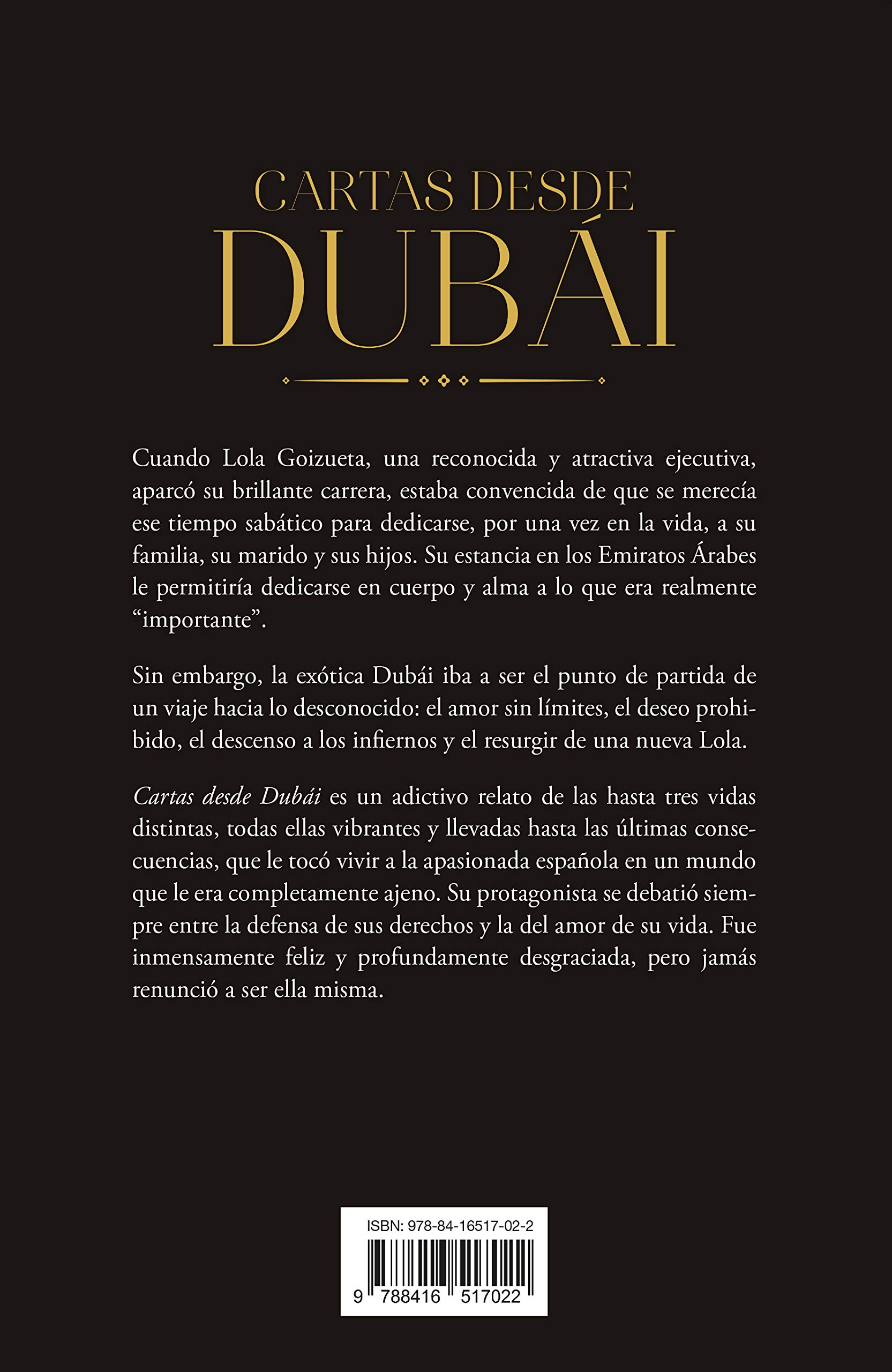 Cartas Desde Dubai (Umbriel narrativa): Amazon.es: Asunta ...