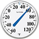"""LaCrosse 104-114 Round Thermometer, 14"""""""