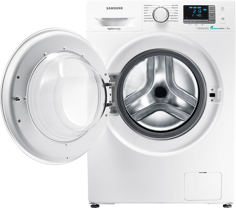 Umweltfreundlich 7 kg UpM Kindersicherung SchaumAktiv Technologie Samsung WF72F5E4P4WEG Waschmaschine Frontlader A 1400