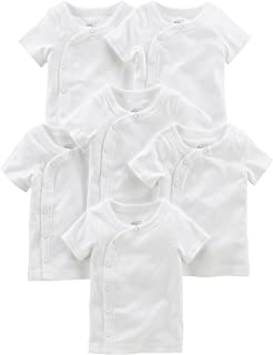 Amazon Com Gerber Unisex Baby 2 Pack Long Sleeve Shirts With Side