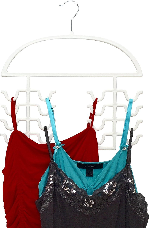 Tank Top Hangers Sport Cami Bra Strappy Dress Bathing Suit Closet Organizer
