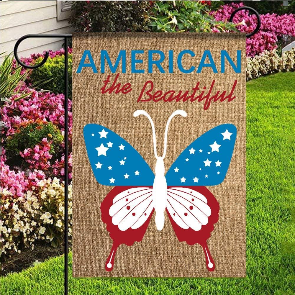 kaiyi Bandera de poliéster para jardín, 1 Bandera, Bienvenida a Nuestra Hoguera Decorativa para jardín: Amazon.es: Jardín