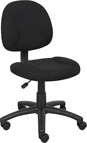Boss Office Products Perfect Posture Deluxe Fabric Task Chair