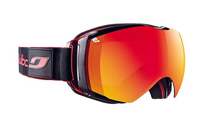 9cc7f0d3d1 Amazon.com   Julbo Airflux Goggles Red Black ONE SIZE   Sports   Outdoors