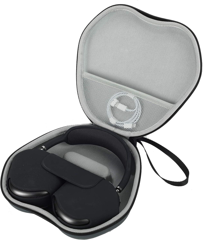 Reisetasche Für Airpods Max Tragetasche Aufbewahrung Airpods Max Kopfhörer Modische Pu Box Grau Elektronik