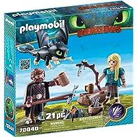 Playmobil Dragons: HIPO y Astrid con Bebé Dragón