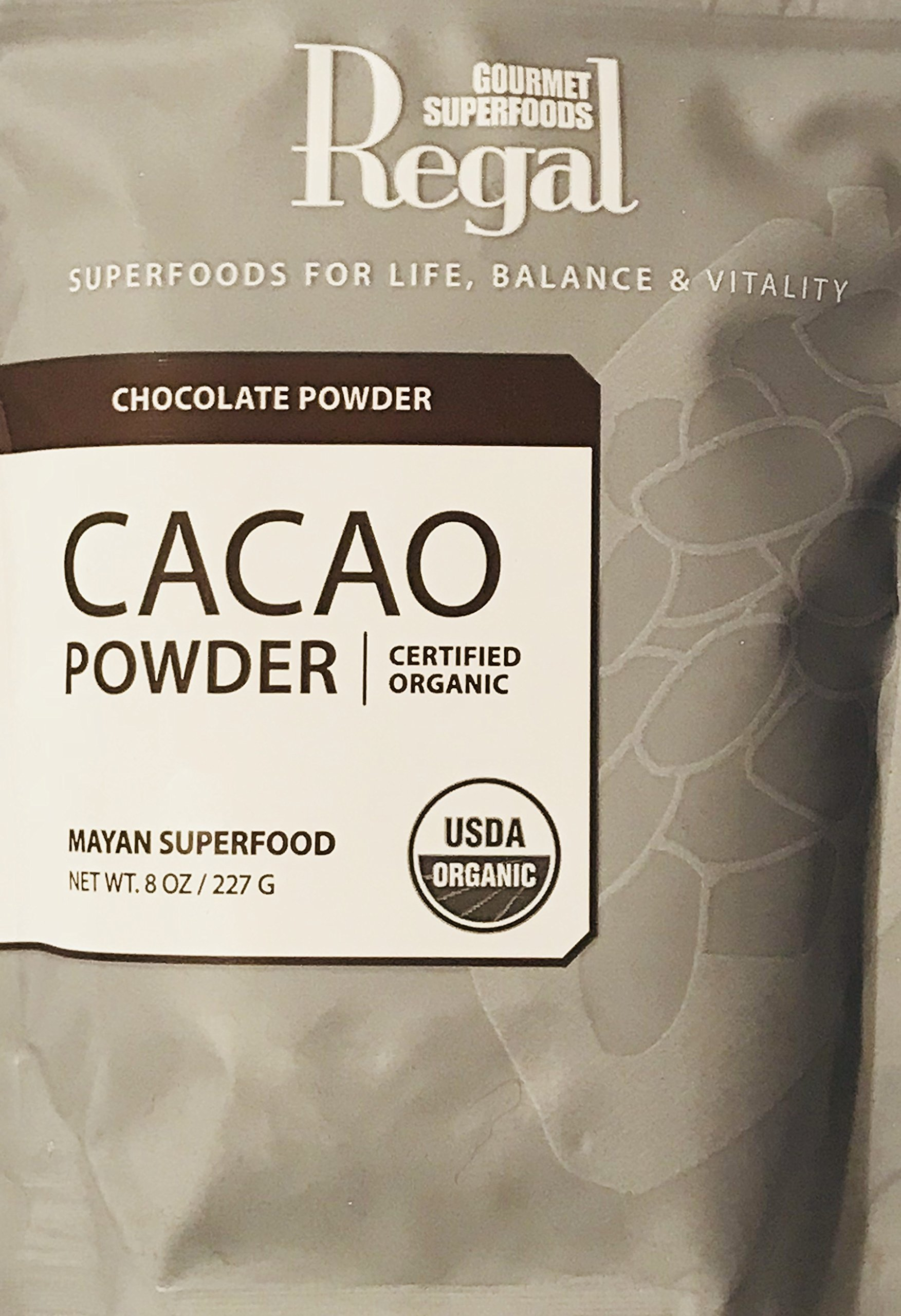 Gourmet Mayan Superfoods Cacao Powder! Certified Organic! Chocolate Powder! Add To Homemade Cookies, Fruit Smoothies, Ice Crean Shakes Or Milk! Great Source Of Antioxidants!