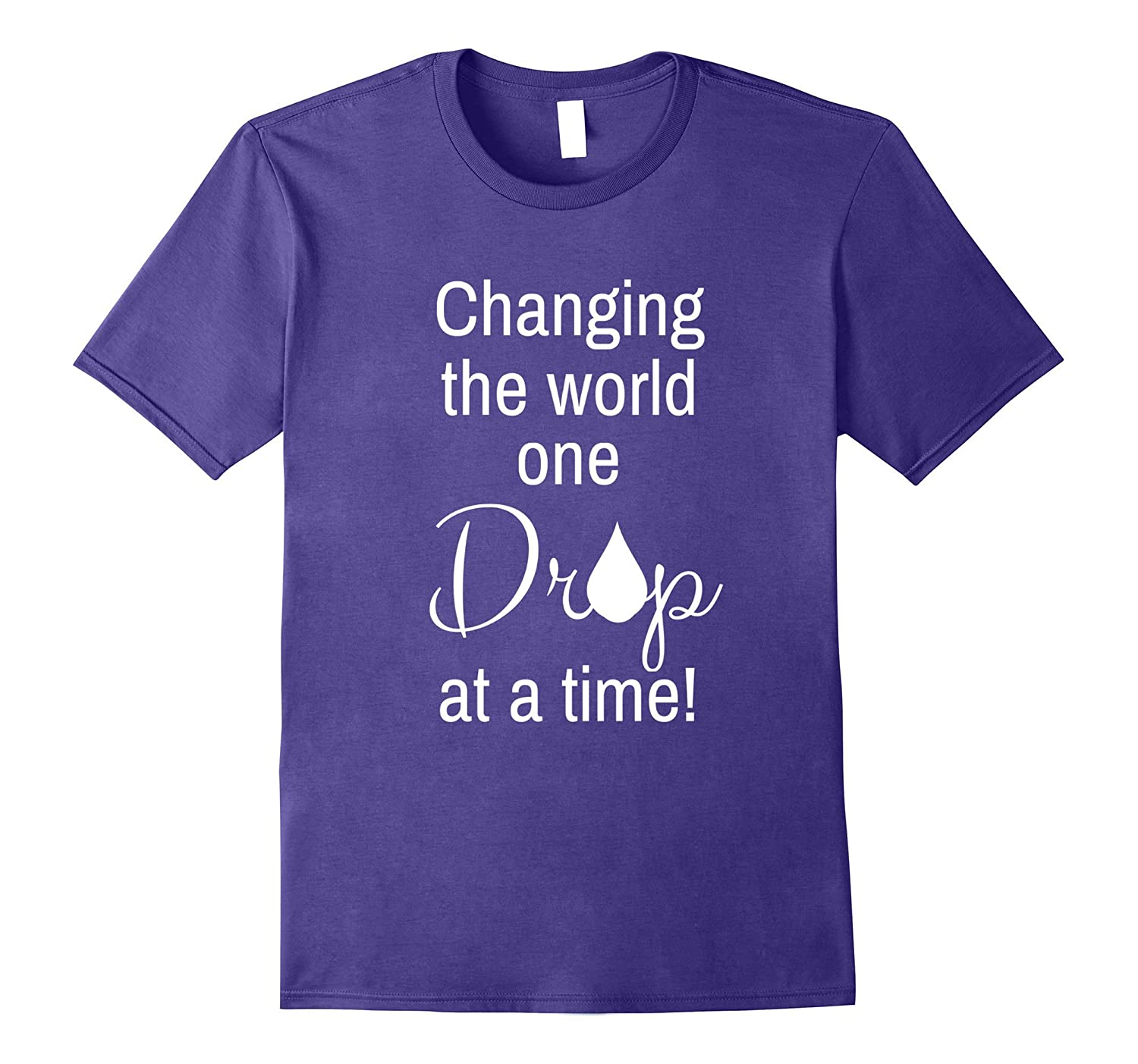 Changing the world one drop at a time Essential Oil t-shirt-Vaci
