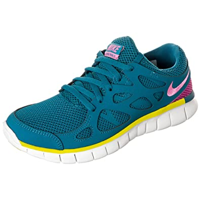 Nike Free Run 2 Wmns Poste Extérieur Damen Fitnessschuhe Grau De Vélo