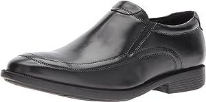Nunn Bush Dylan Men Moc Toe Slip Loafer On KORE Comfort Walking Technology Shoes