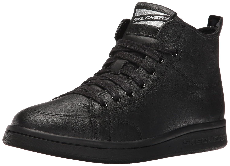 Skechers Damen Omne-Midtown Hohe Sneakers, Weiszlig;  37 EU|Schwarz (Bbk)