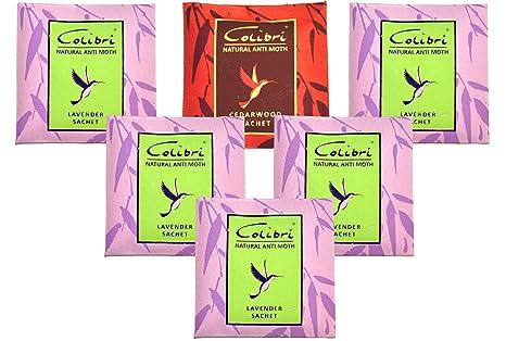 Amazon.com: Paquetes de 5 Colibri todas las antipolillas de ...