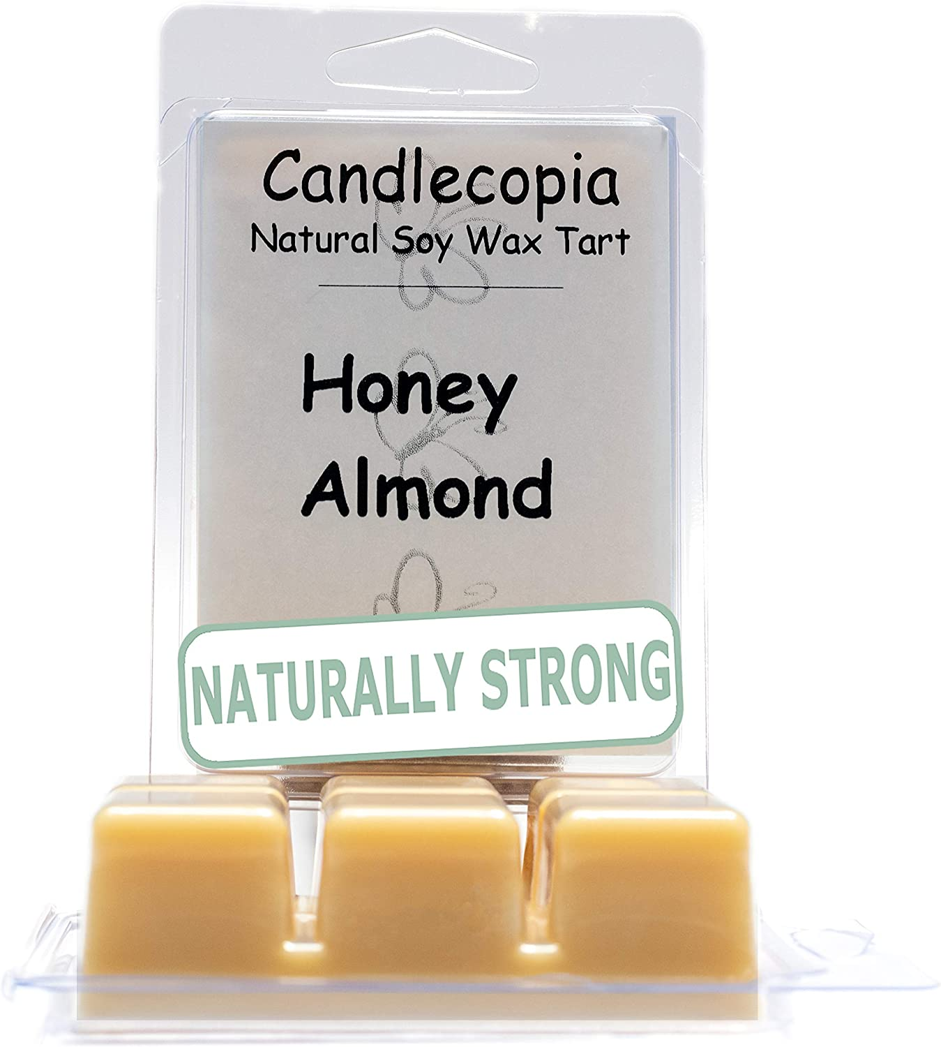 Home Fragrance Scented Soy Wax Melt All Soy Wax Melt Long Lasting Wax 2 Pack Handpoured Almond Wax Melt