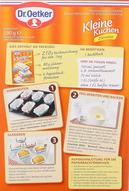 Kleine kuchen von dr oetker