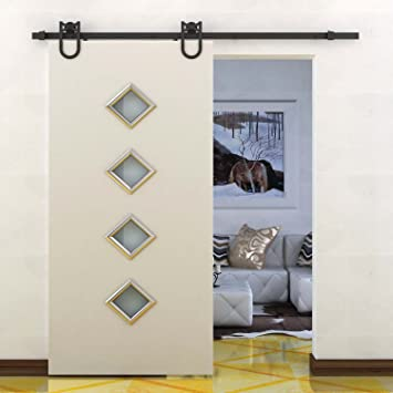 barn door kite materials lowes hanging kit interior sliding hardware set for kitchen cabinets