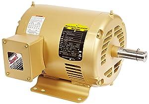Baldor EM3212T General Purpose AC Motor, 3 Phase, 182T Frame, OPSB Enclosure, 5Hp Output, 3450rpm, 60Hz, 208-230/460V Voltage