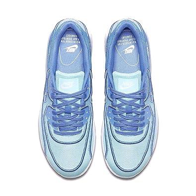Nike Air Max 90 Ultra 2 0 BR Still Blue/Polar White Womens B075DH6CXP