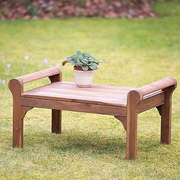 Plant Theatre Lutyens Table basse en bois dur de très haute qualité