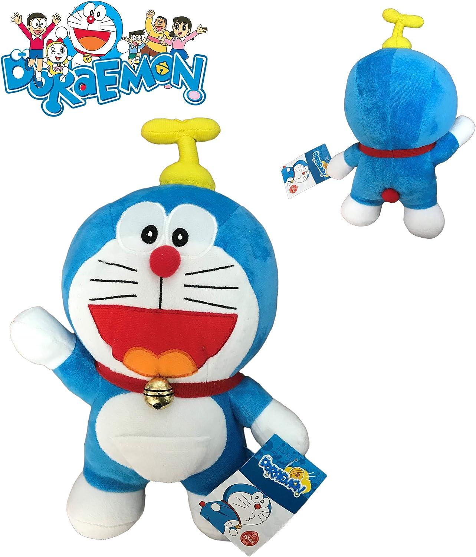 Gato Doraemon Volador Peluche 25 cm: Amazon.es: Juguetes y juegos