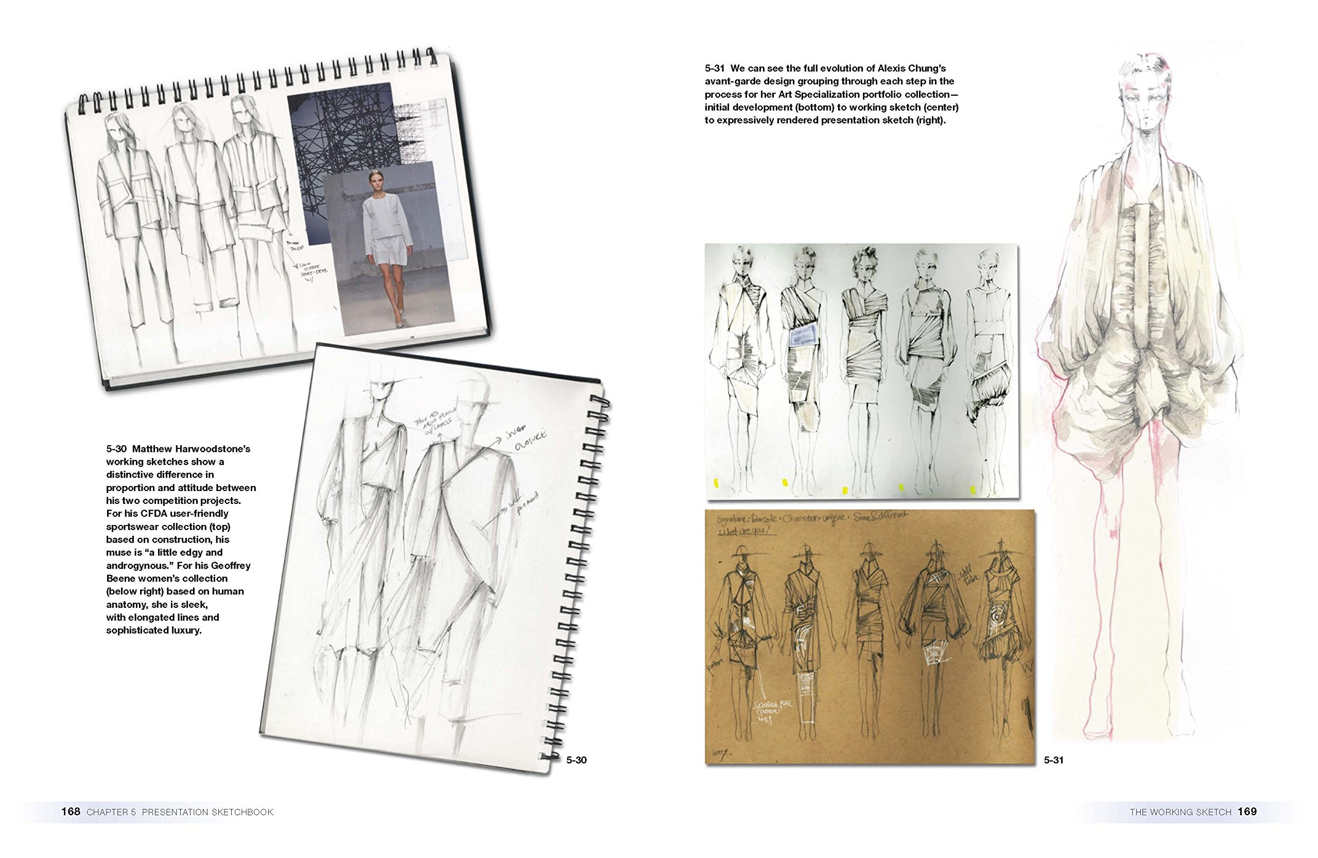 The Fashion Designer S Sketchbook Inspiration Design Development And Presentation Required Reading Range Rothman Sharon 9781472567291 Amazon Com Books