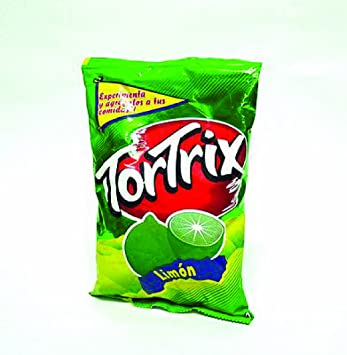 TORTRIX Corn Chips (Limon/Lime, 2 Pack)