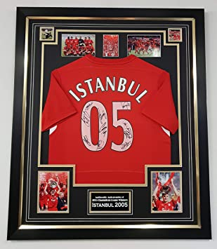 check out 2d11b fe6fb WWW.SIGNEDMEMORABILIASHOP.CO.UK Liverpool 2005 Signed Shirt Champions  LEAGUE WINNERS
