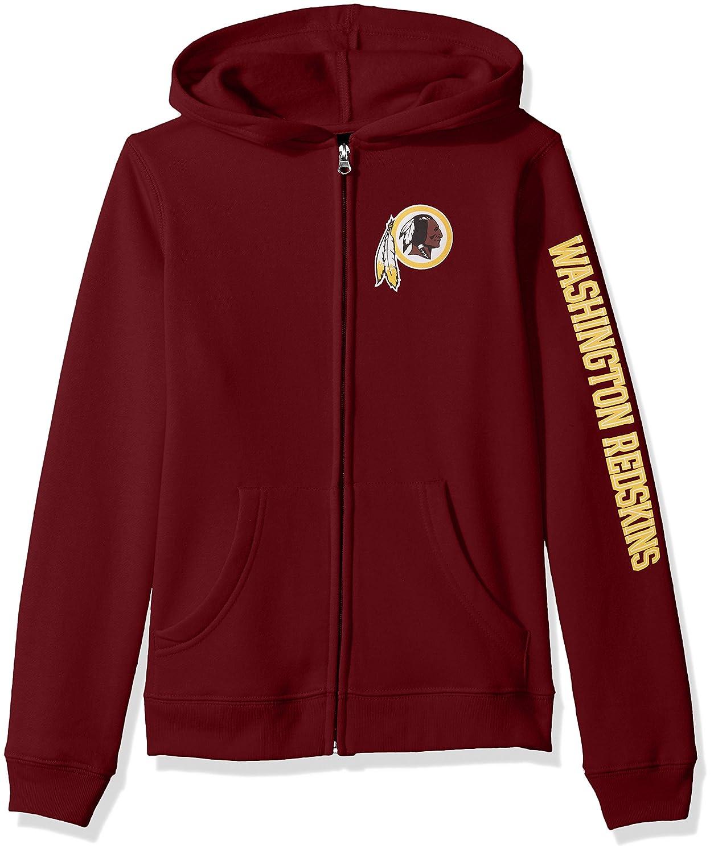 NFL Girls 7-16 Campus Pride Full Zip Fleece Hoodie