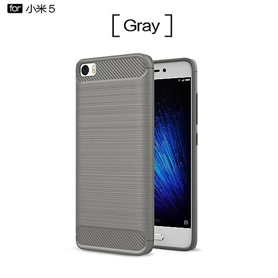 Amazon.com: Xiaomi Mi 5 Case - TianTa - Carbon Fiber Case ...