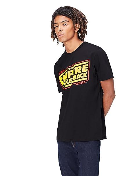 ba48d827d9d find. Men s Star Wars Empire Strikes Back Print T-Shirt  Amazon.co ...