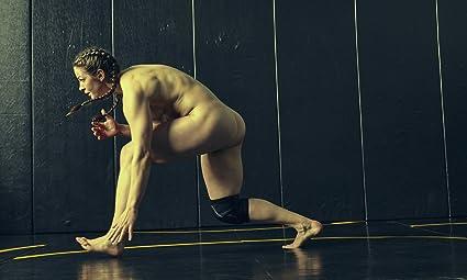 Nude wrestler