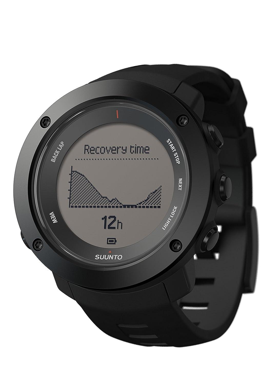 Suunto - Ambit3 Vertical HR - SS021964000 - Reloj GPS Multideporte + Cinturón de frecuencia cardiaca (Talla M) - Ideal para montaña - Negro: Amazon.es: ...
