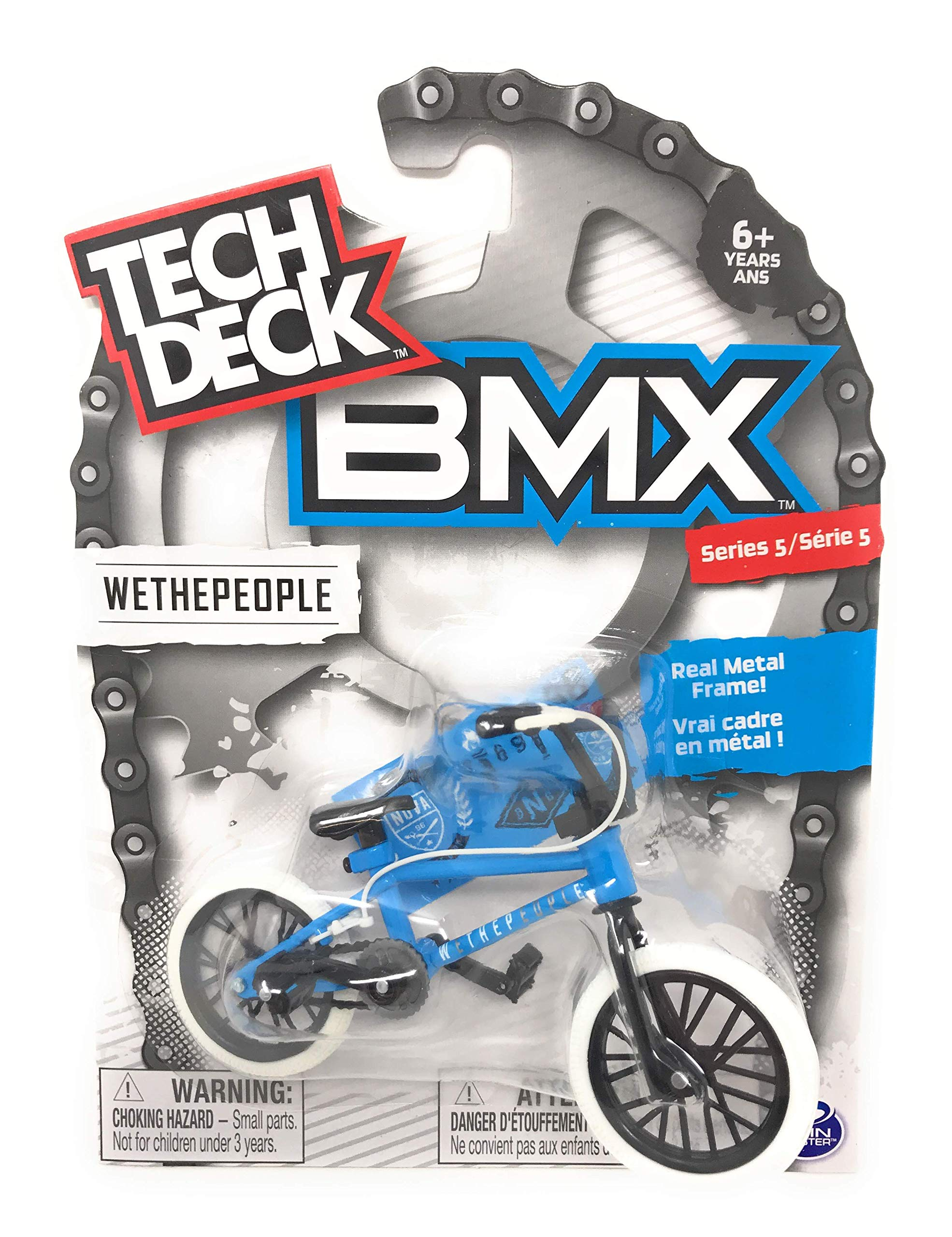 Nozlen Toys Bundle: Tech Deck Series 5 BMX Bikes Set of 4 - WeThePeople and Sunday with Bonus Bag by Nozlen Toys (Image #5)