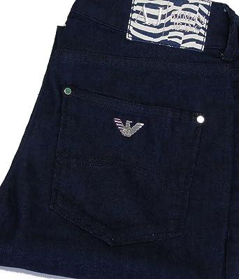 704f02b6e61a Jean Armani Jeans J18 A5J18 Slim FIT Bleu Fonce Femme  Amazon.fr ...