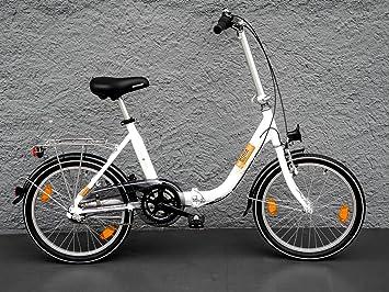 Shimano Folding Bike - Bicicleta eléctrica plegable (20pulgadas, aluminio)