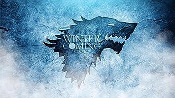 Juego de Tronos se acerca el invierno Stark llavero imán de ...