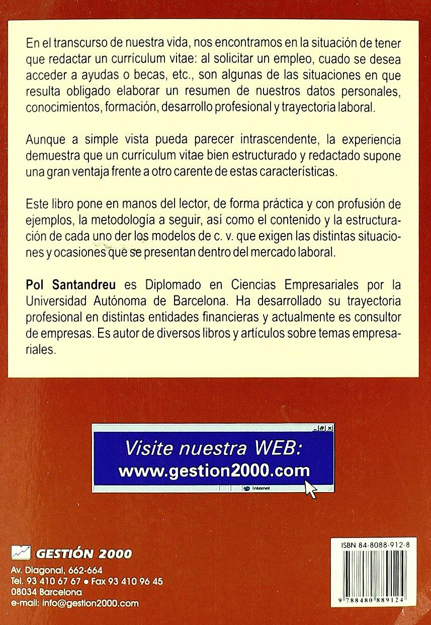 Cómo preparar un buen currículum: Amazon.es: Pol Santandreu Garcia ...