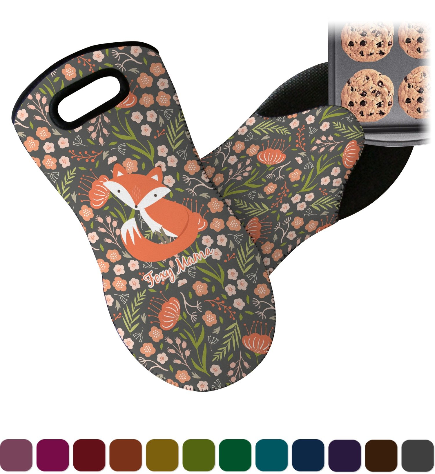 RNK Shops Foxy Mama Neoprene Oven Mitt by RNK Shops