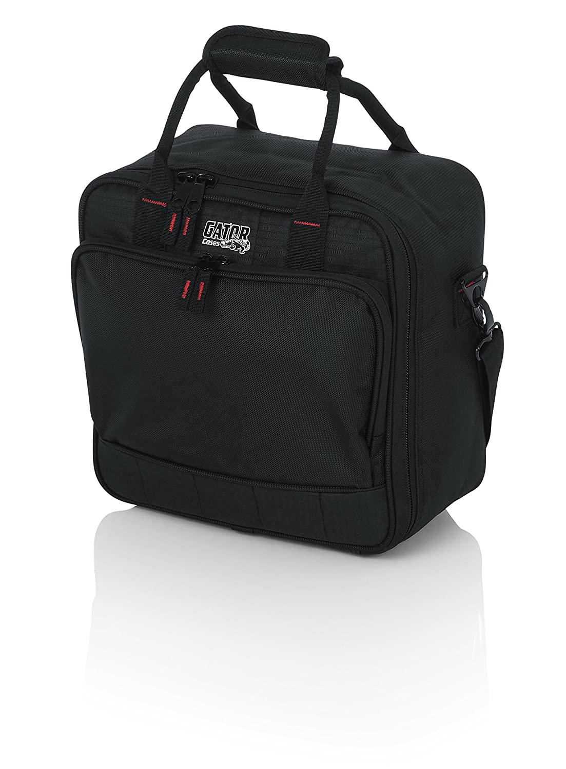 """Gator Cases Padded Nylon Mixer/Gear Carry Bag with Removable Strap; 12"""" x 12"""" x 5.5"""" (G-MIXERBAG-1212)"""
