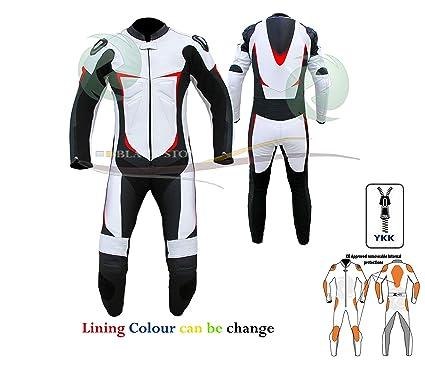 ZENS - Traje de piel para motociclista, multicolor, para ...