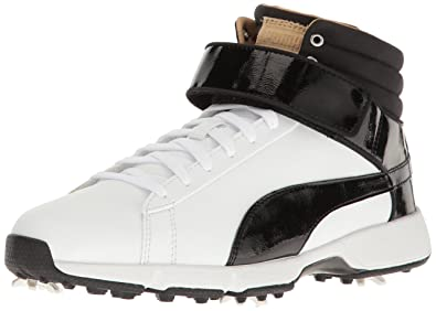 481afd91d2f Puma Golf Unisex Titantour HI-TOP SE JR. Golf Shoe