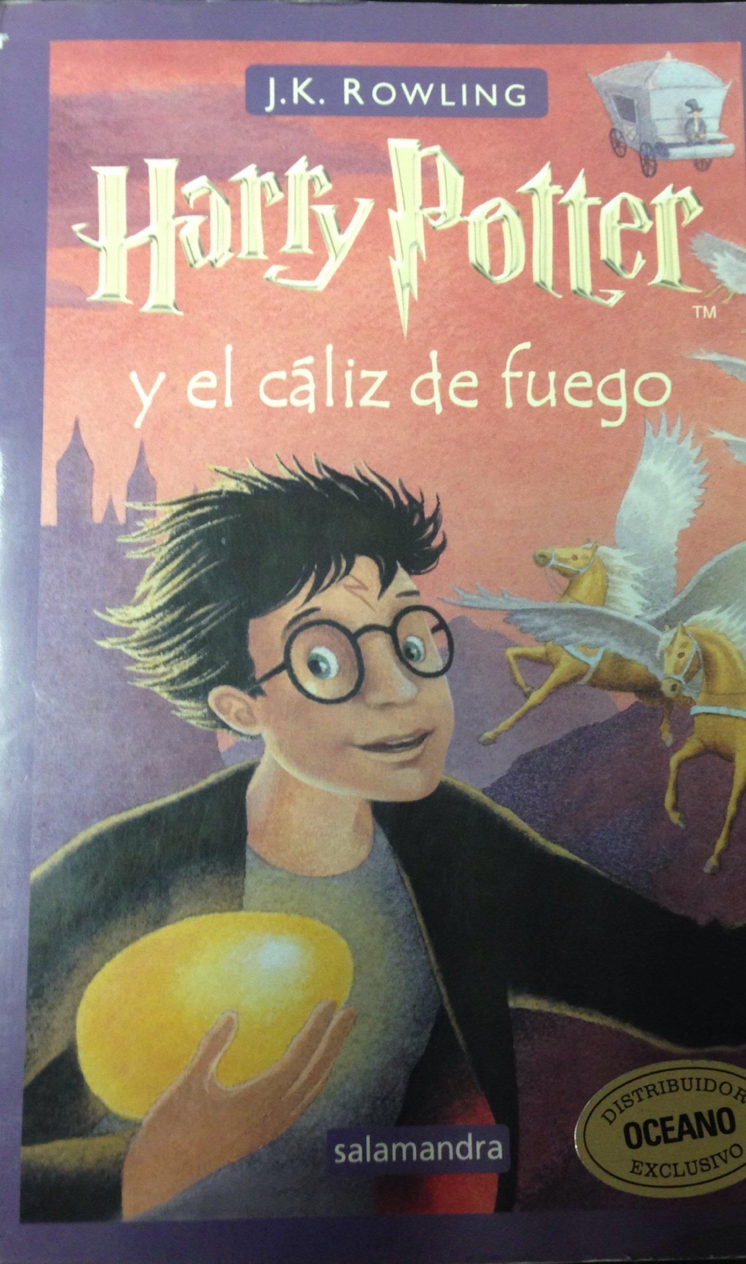 Harry potter y el caliz de fuego: Amazon.es: Rowling, J. K.: Libros
