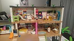 Playmobil 5574 maison moderne jeux et jouets for Playmobil maison moderne prix