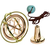 Joytech Precision Gyroscope Kill Time Metal Anti Gravity Spinner Balance Toy Exquisite Gift JA01